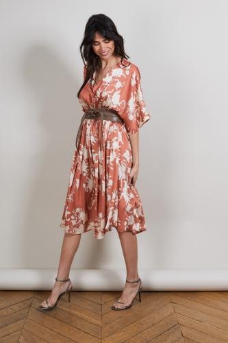 Robe Casual Chic Robes Femmes Elegantes Robe Working Girl Robe Fluide